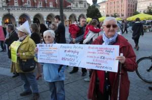radio Kraków babcie protestują