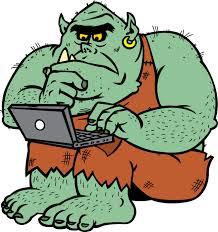 Bloger Sowiniec, podręcznikowy trol