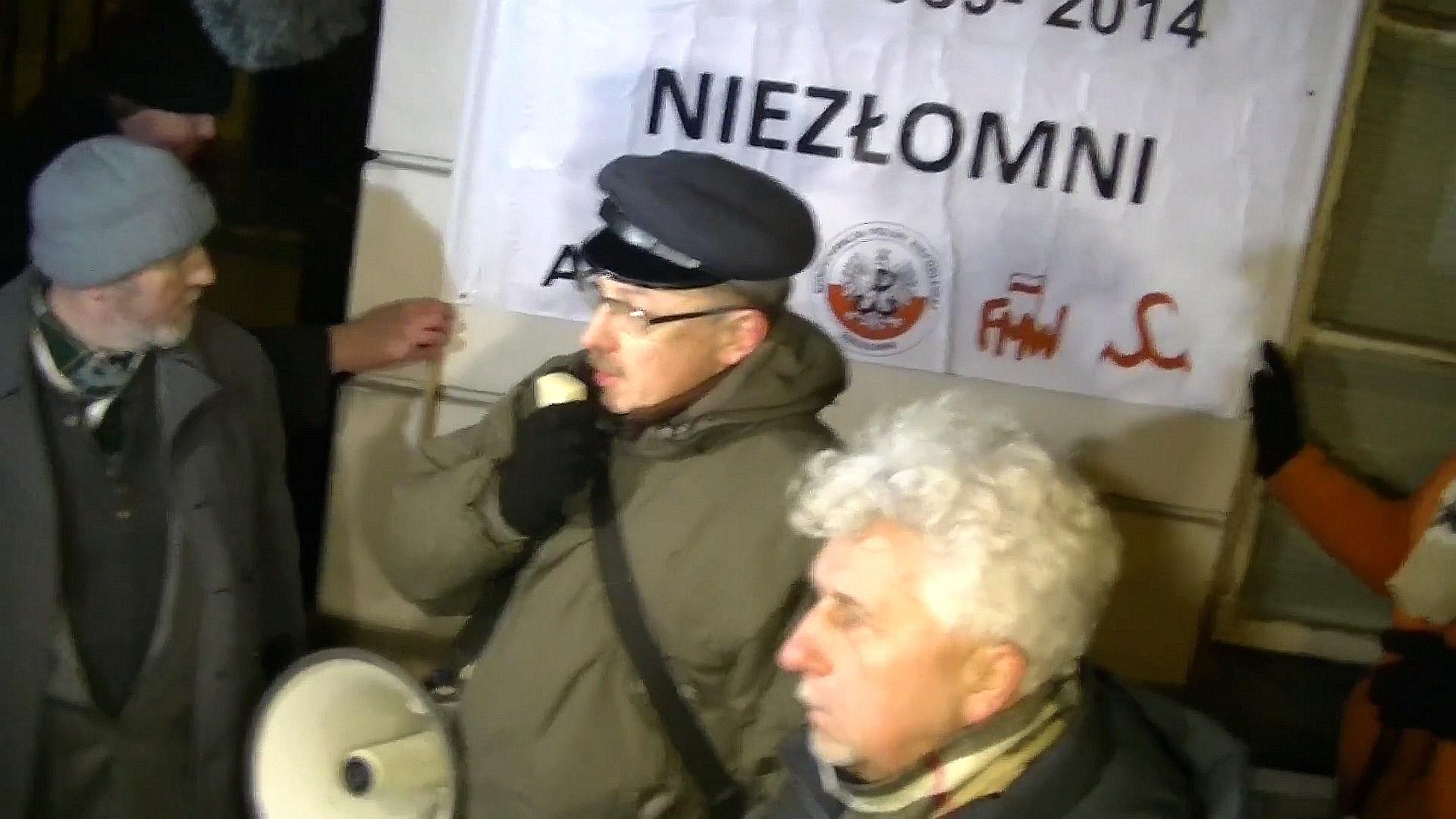 Protest pod PKW przeciw sfałszowanym wyborom
