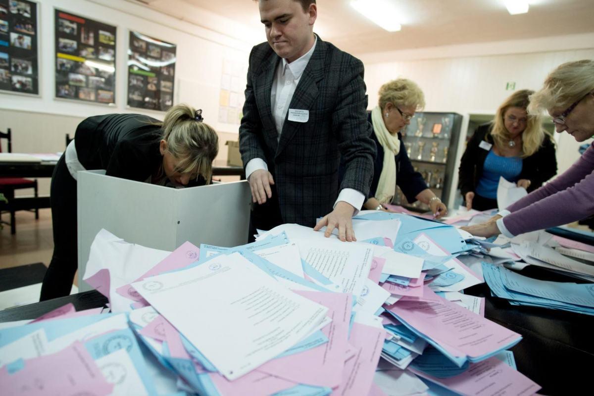 130 tysięcy przekręconych głosów! Protest w Katowicach