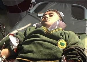 Atak na szkołę w Peszawarze fot. euronews.com