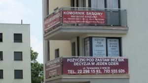 Ul. Terespolska w Warszawie vis`a vie Sądu Rejonowego Warszawa Praga Północ i Warszawa Praga Południe fot. M. Pietkun