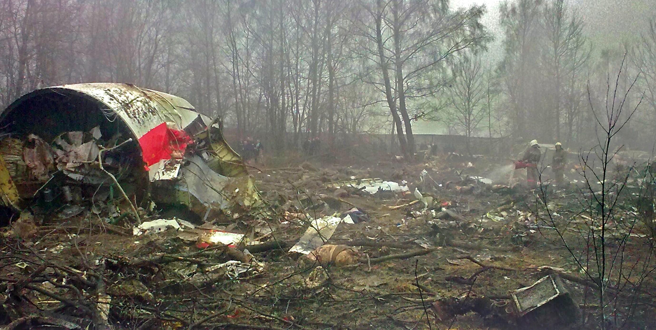 Katastrofa w Smoleńsku. Śledczy chcą przesłuchań rosyjskich biegłych