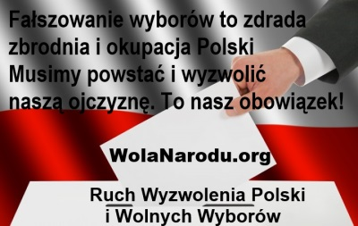 Rządzący zdrajcy wypowiedzieli Polakom i Polsce wojnę na śmierć i życie