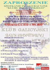 Klub Galicyjski-plakat