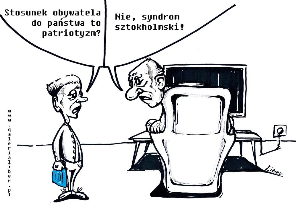 Obywatel – państwo, syndrom sztokholmski