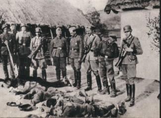 Polscy rolnicy zamordowani przez Niemców. Rok 1943.