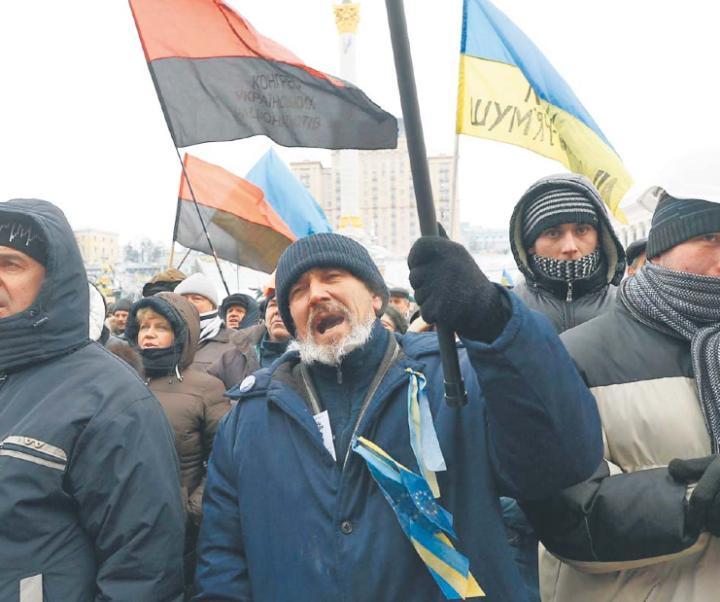 Smacznego ukraińskie dupki!!!