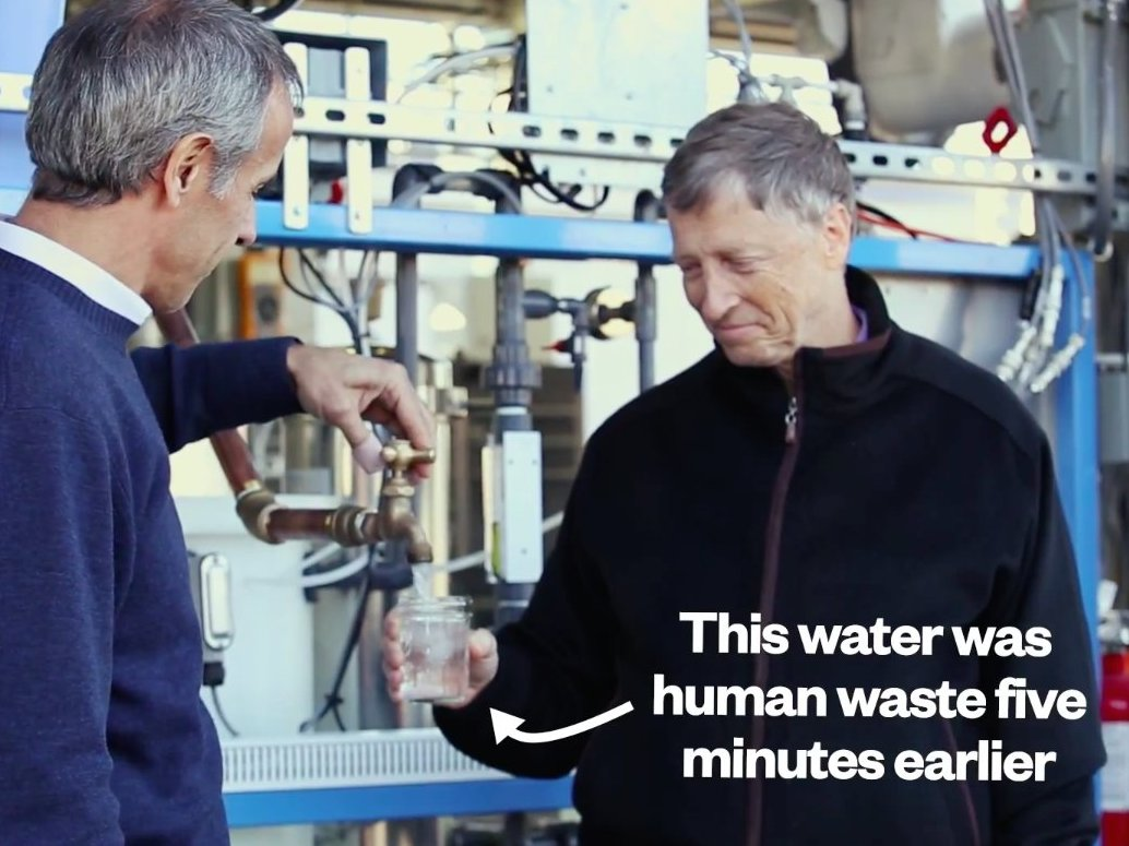 Janicki Industries – Woda i prąd z ludzkich odchodów