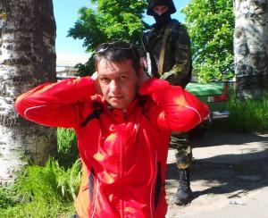 затримання патріотами організатора терористів у Маріуполі. 7 травня