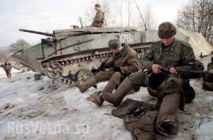 кацапи біля танків
