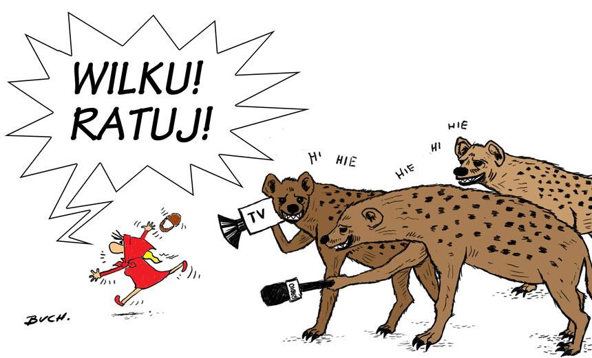 Hiena, hienie, o hienie, z hieną