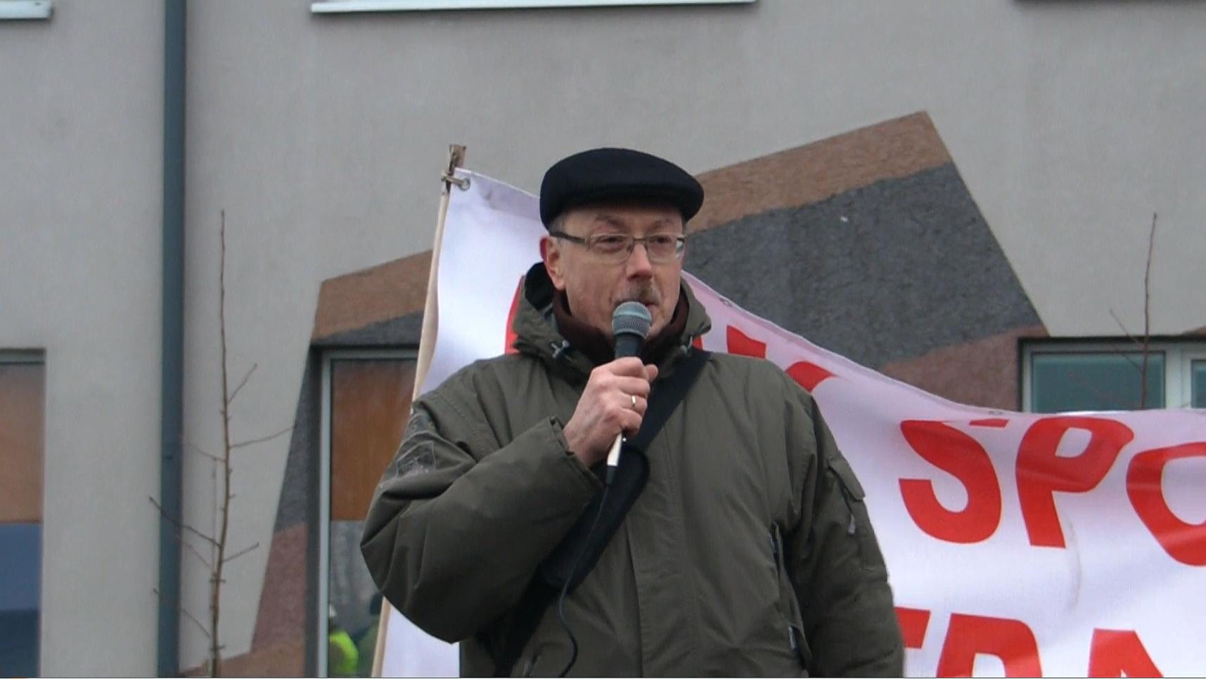 WOLNY CZYN: Przyszły Prezydent RP Adam Słomka w walczącym Jastrzębiu