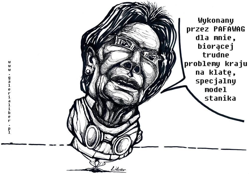 Strajkowy bufor pani premier
