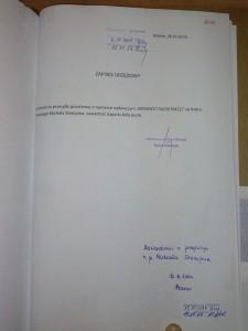 powiadomienie Michała zapisek urzędowy 1
