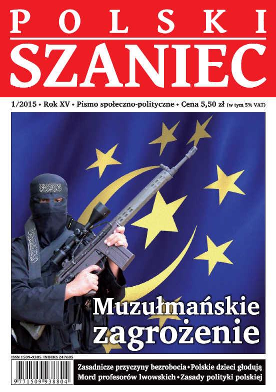 """""""Polski Szaniec"""" 1/2015 już w sprzedaży!"""