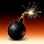 11840308-eksplodujące-bomby-z-zapalona-bezpiecznikiem-płonącym-ogniem-iskry-fealing-ciepło-jako-niebezpie