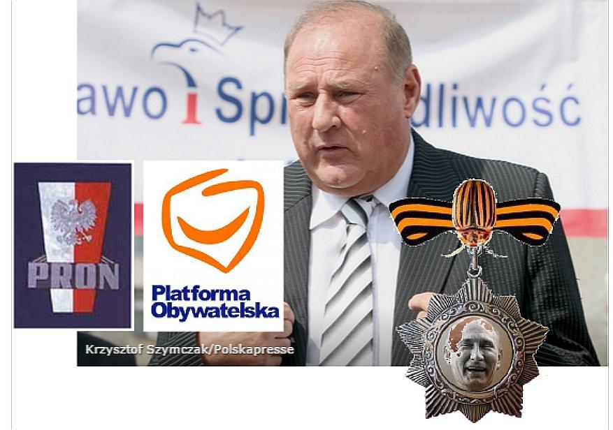 WOLNY CZYN: Jan Tomaszewski z Orderem Stonki za zasługi dla Rosji