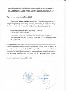 notariusz pośw