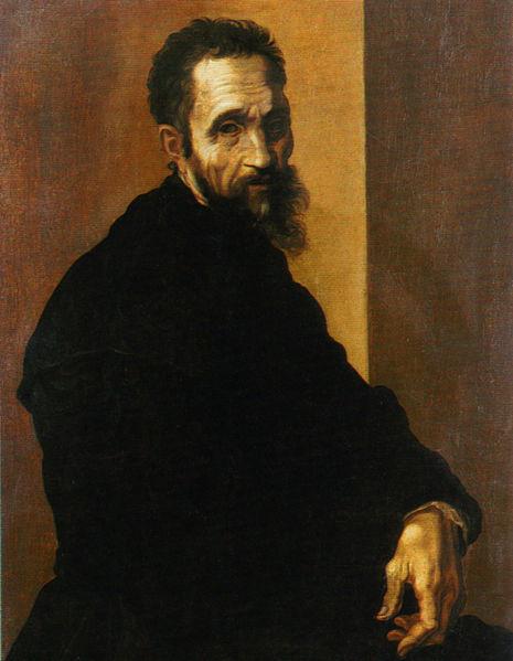 Michał Anioł Autoportret