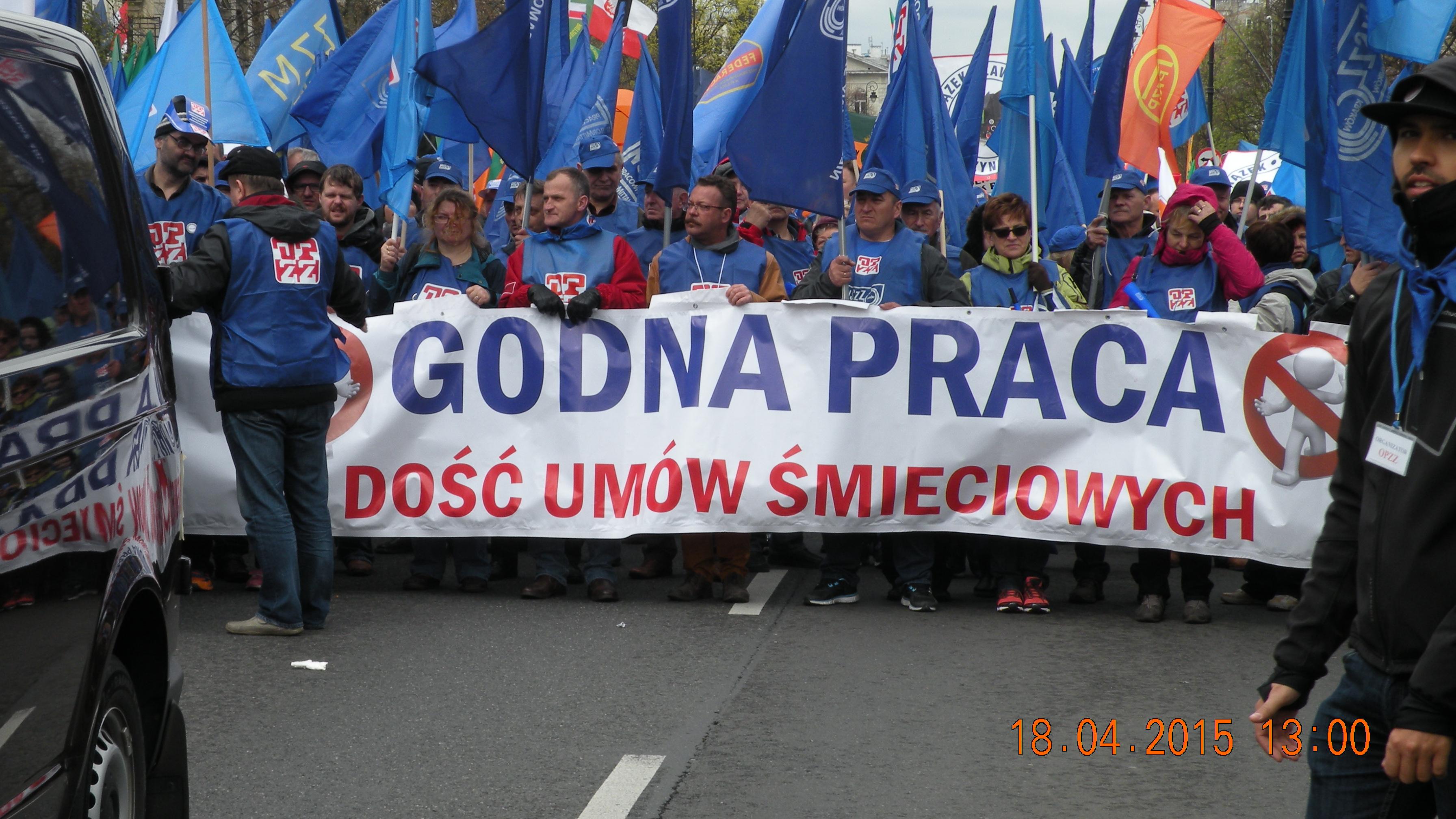 OPZZ nie poprze Bronisława Komorowskiego