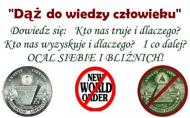 """""""Nowy Porządek Świata"""" część 2"""