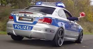 Policja w Niemczech dzisiaj