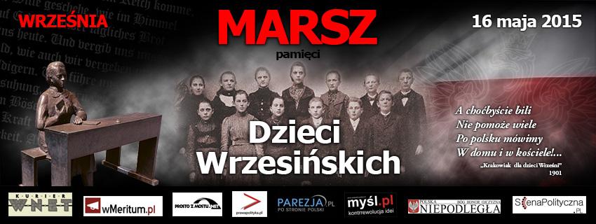 """III Marsz Pamięci Dzieci Wrzesińskich: """"Kto ty jesteś? POLAK MAŁY!"""""""