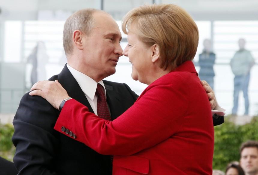 Wizyta Merkel w Moskwie