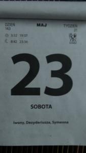 kalendarz 007