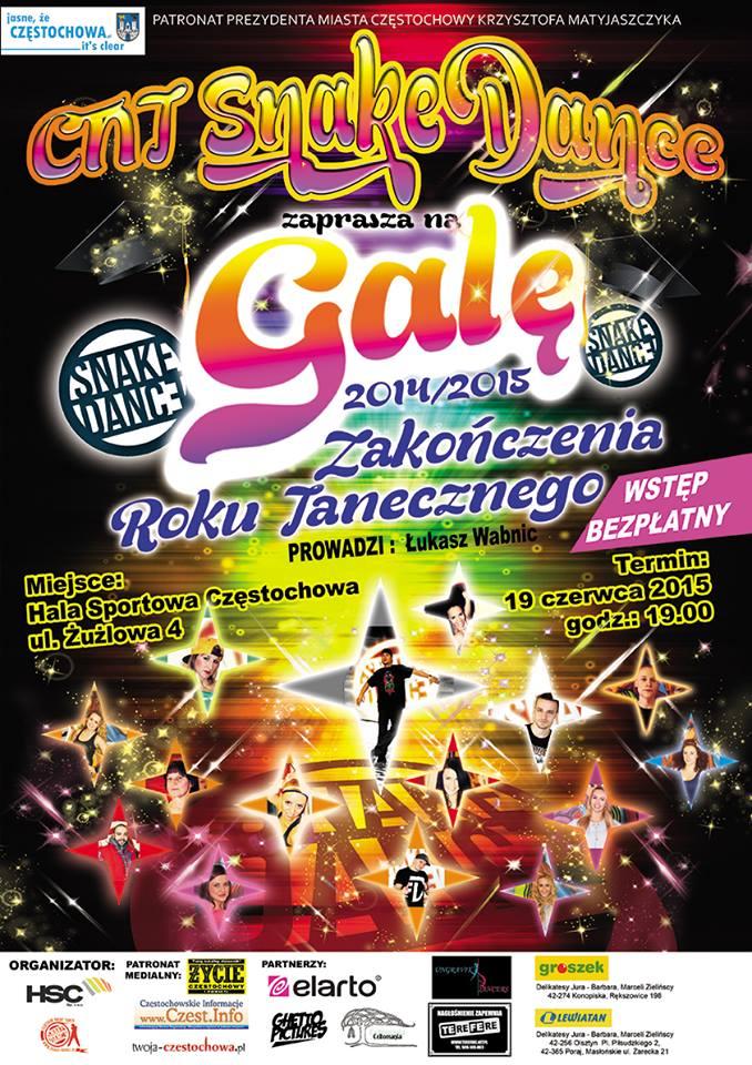 Zakończenie Roku Tanecznego czyli Gala CNT w Częstochowie.