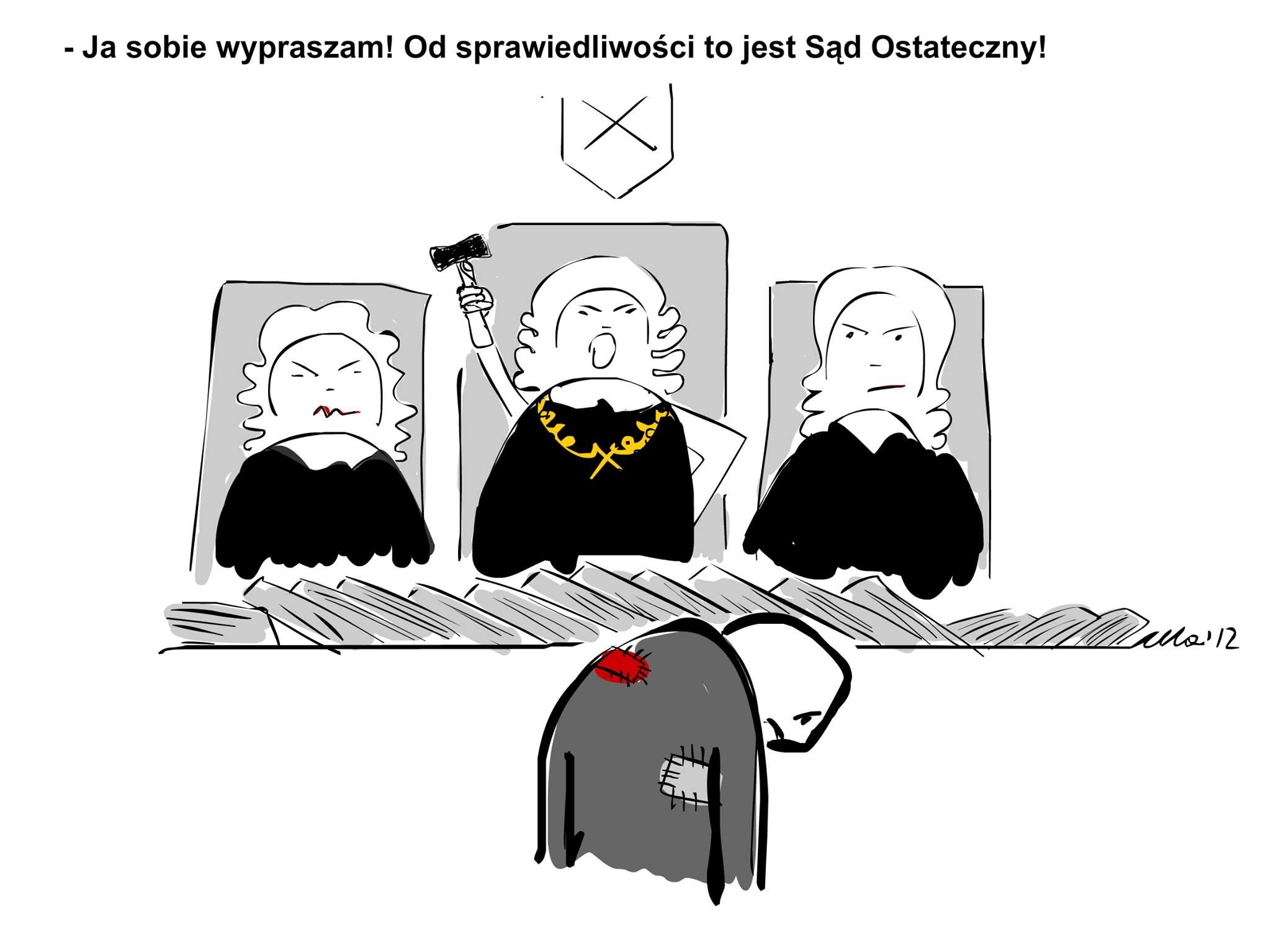 WOLNY CZYN: Dalszy ciąg sprawy napadu funków Rzeszy na Gazetę Polską