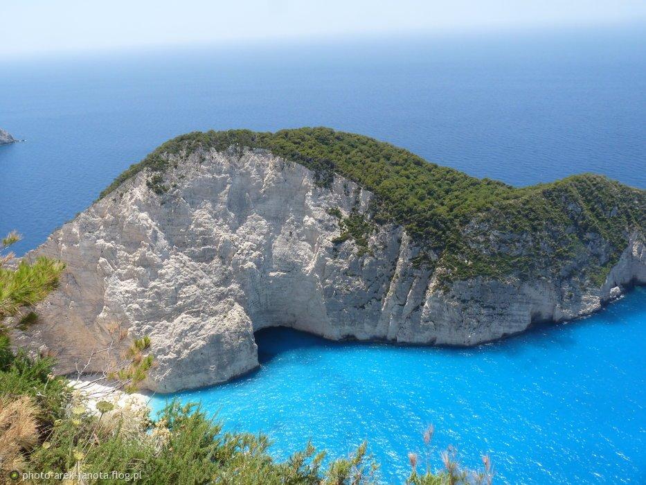 """""""Zielona Wyspa"""" na Morzu Egejskim"""