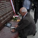 Pomnik smoleński w 35. rocznicę Świdnickiego Lipca