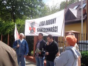 Pikieta przed konsulatem Ukrainy