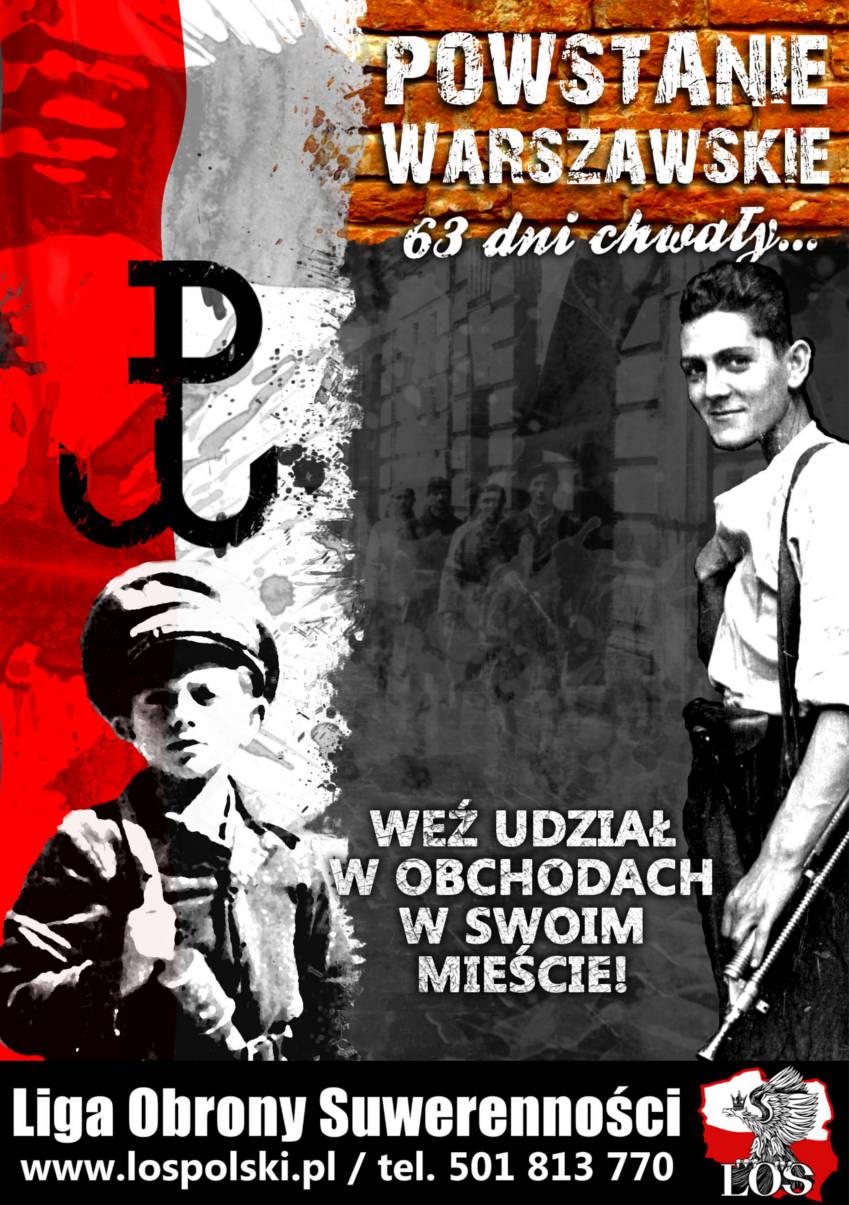 71. rocznica wybuchu Powstania Warszawskiego