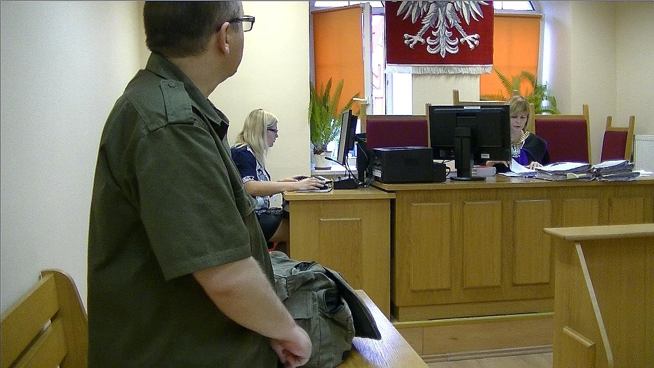 Pikieta w obronie uwięzionego dziennikarza – Tarnowskie Góry