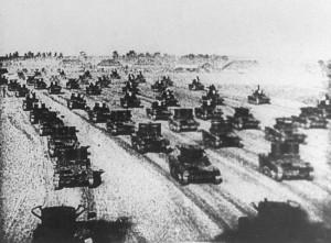 agresja radziecka czołgi