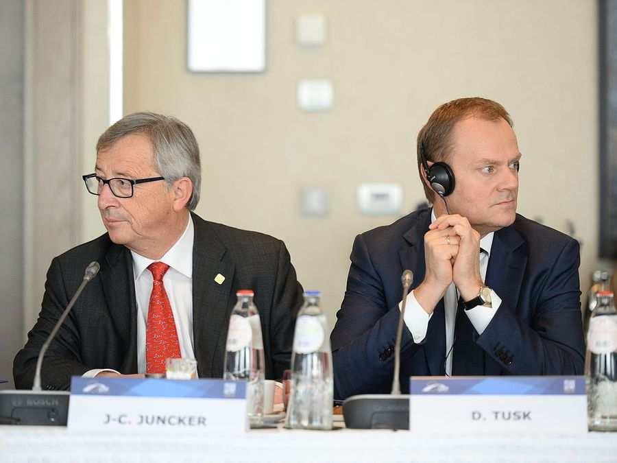Tusk na wylocie? Juncker zabrał Tuskowi i władzę i krzesło?