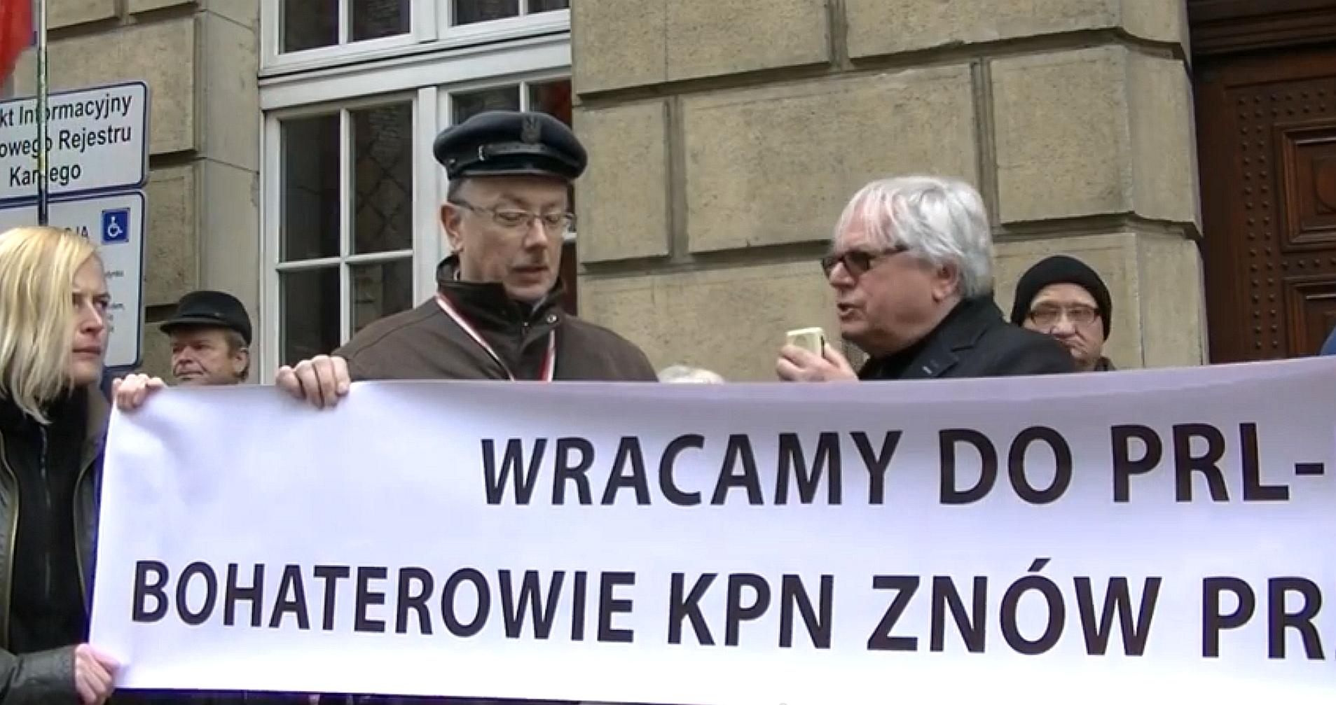 WOLNY CZYN: Pikiety w obronie Miernika i in. więźniów politycznych PO
