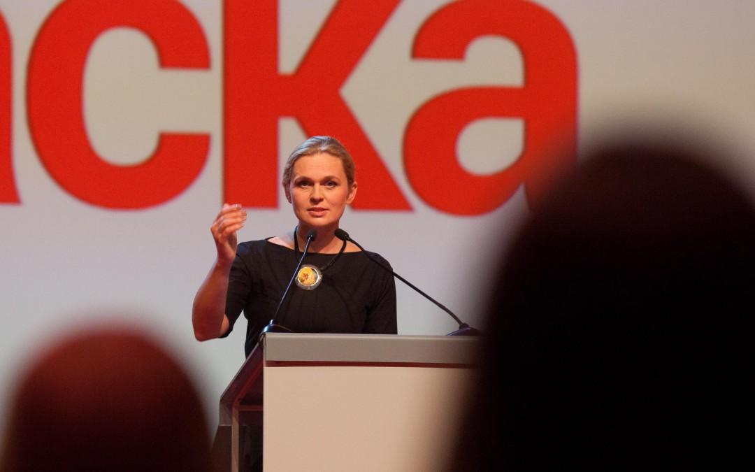 Barbara Nowacka zamiast Magdaleny Ogórek