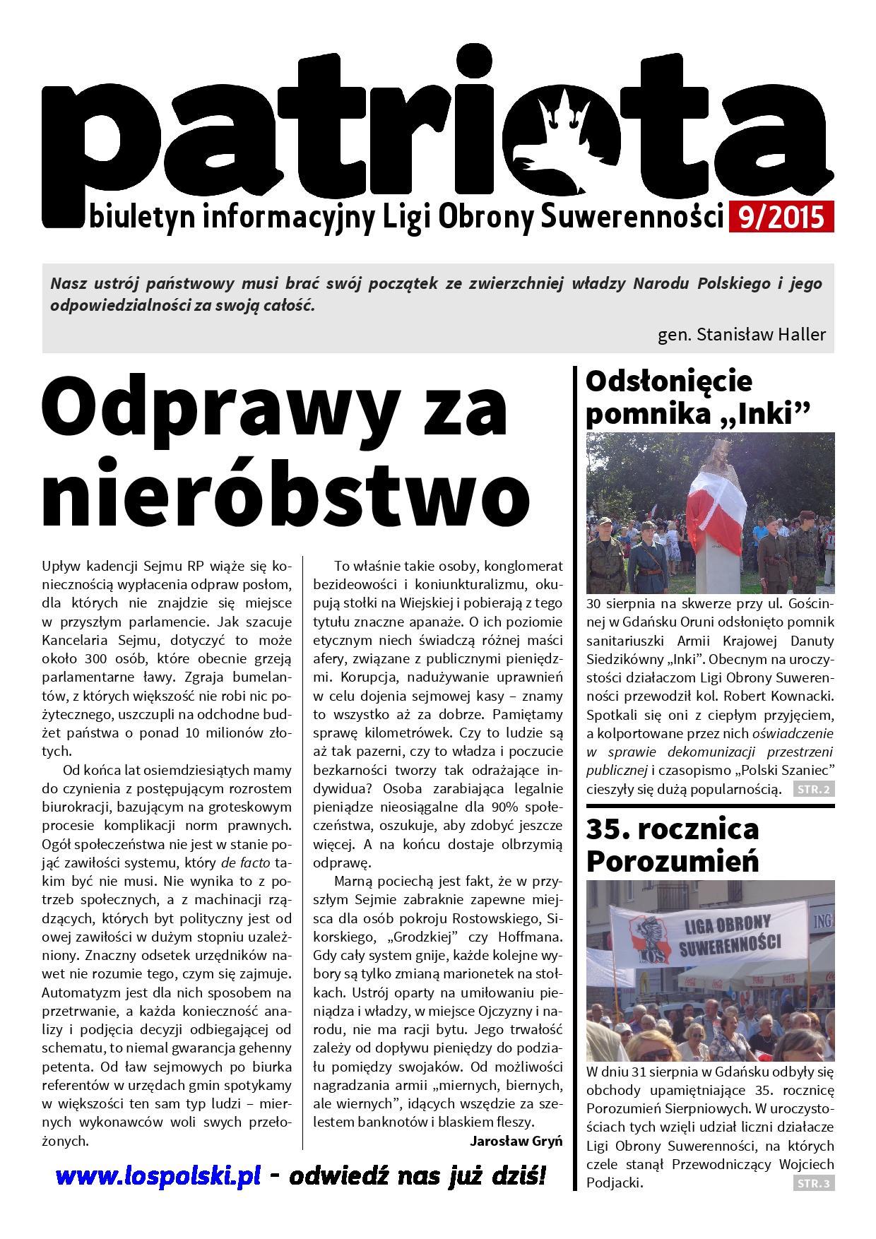 Patriota 9/2015