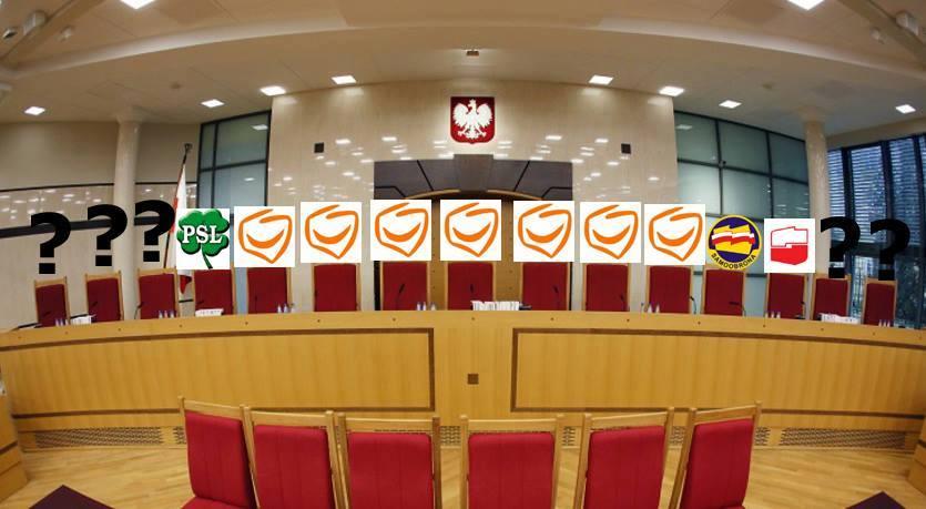 Trybunał Konstytucyjny: ochrona Państwa PO