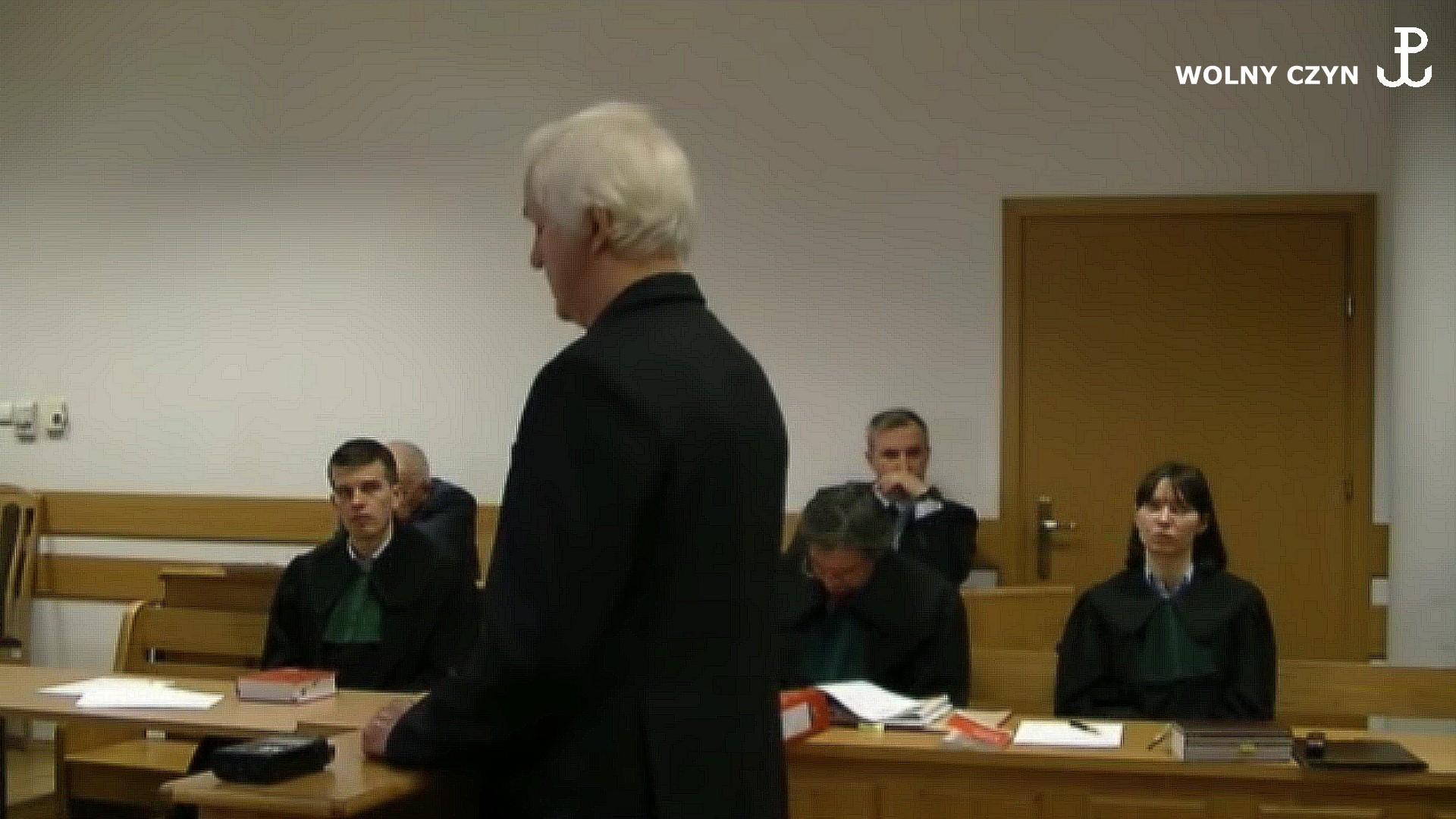 WOLNY CZYN: Film z rozprawy Wojciecha Sumlińskiego 30 października