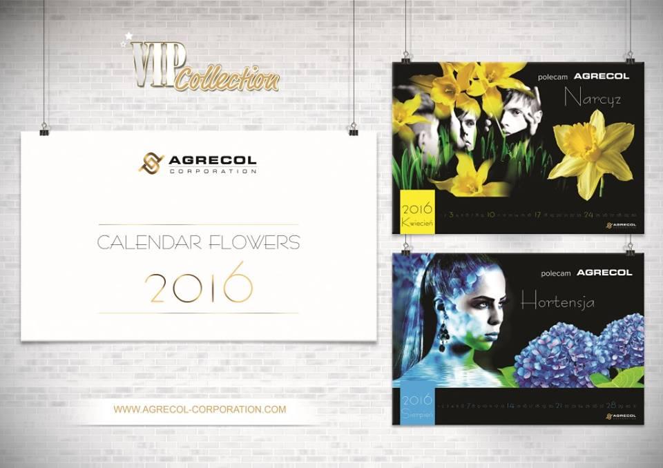 Calendar Flowers 2016 wspiera akcje charytatywne