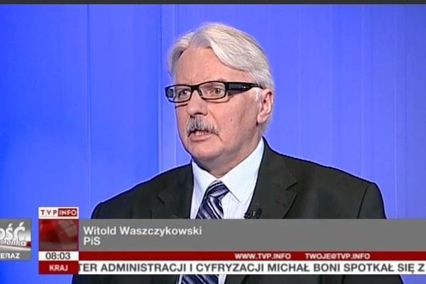 WOLNY CZYN: Minister Waszczykowski zabiera się za weganów