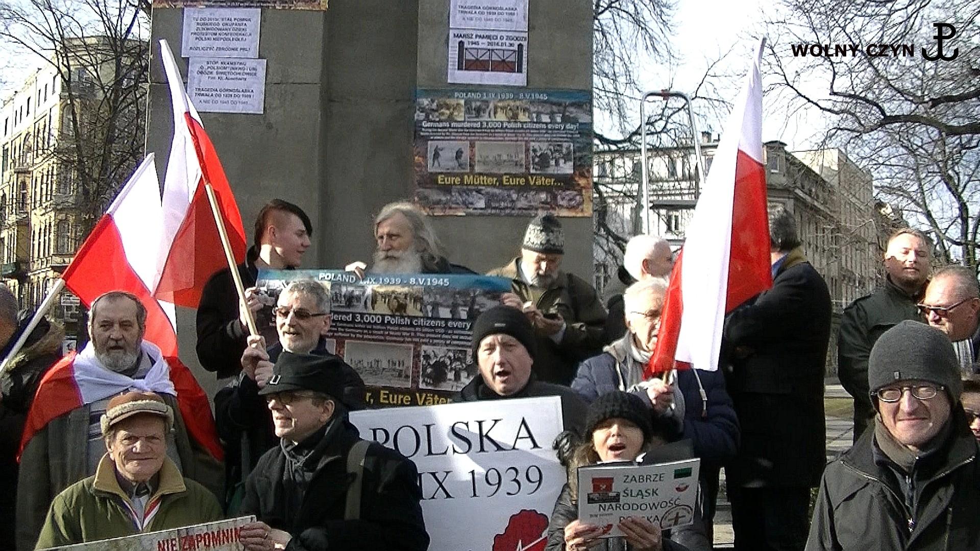 WOLNY CZYN: 30 stycznia Katowice – Polacy kontra V kolumna Niemiec