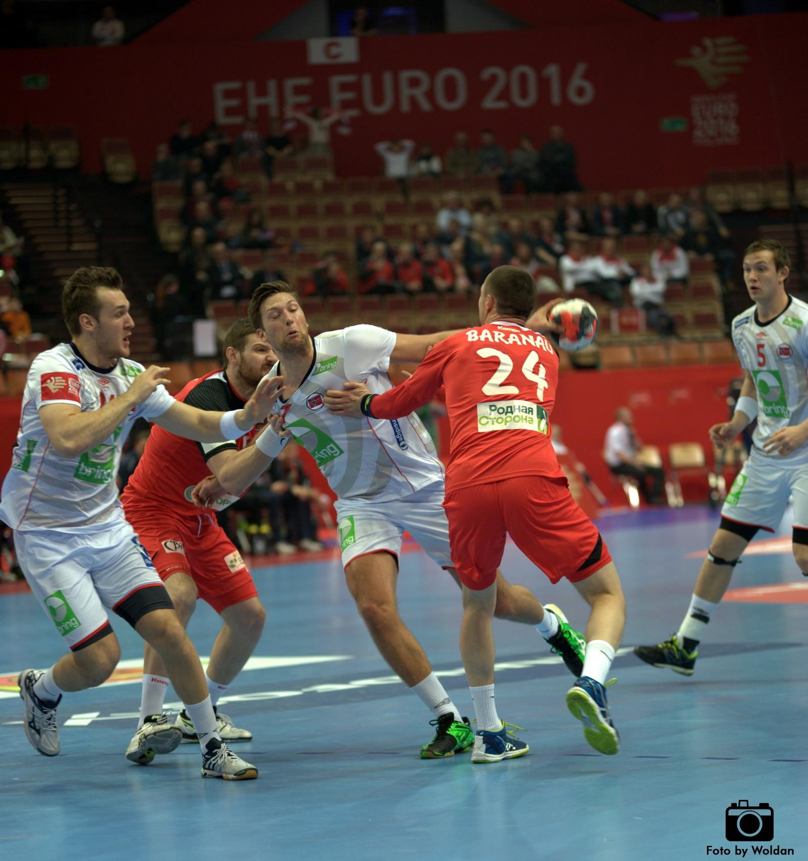 EHF Euro 2016, gr. B: Norwegia z awansem, bramkarz Christensen zatrzymał Białoruś!