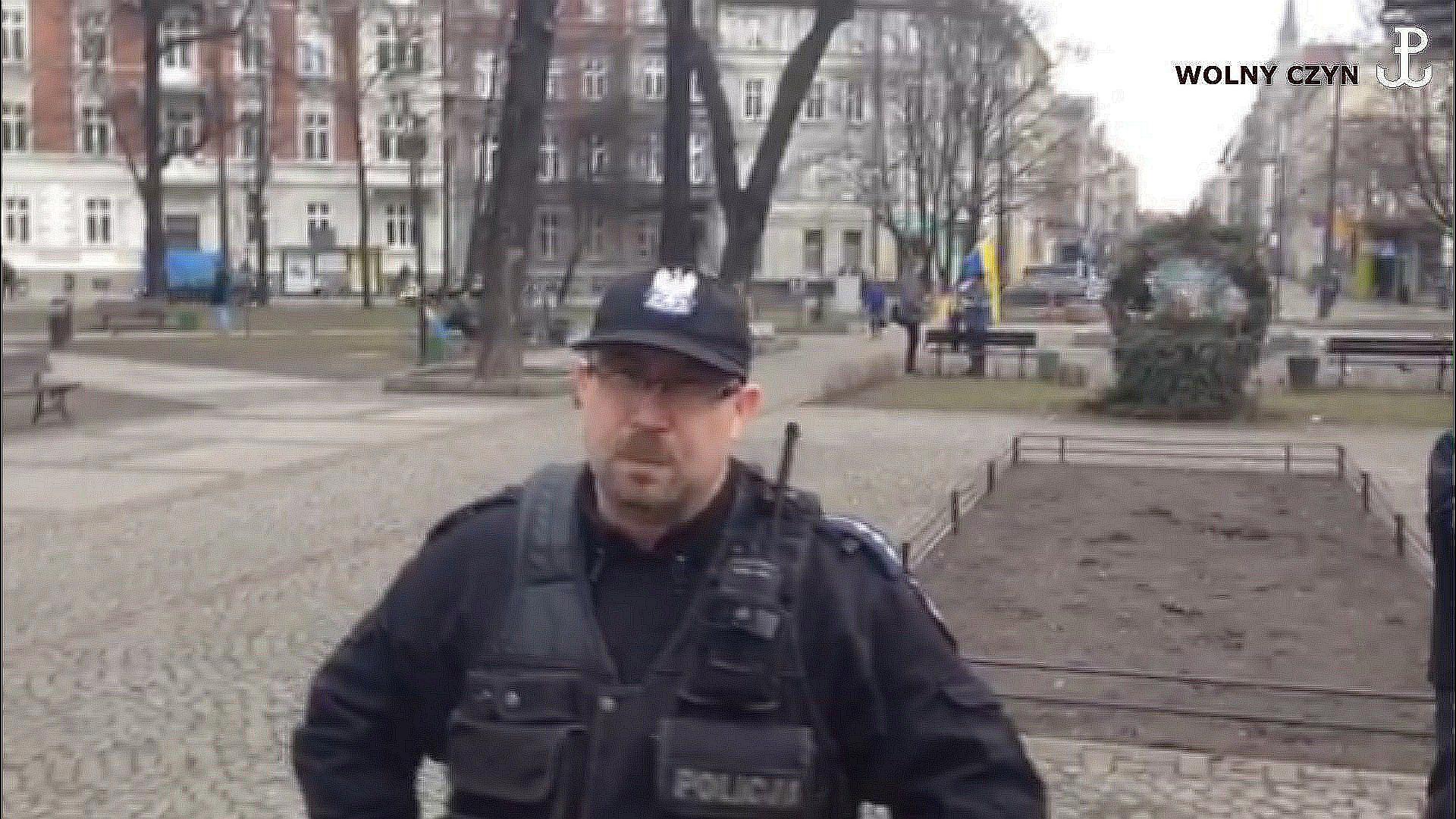 WOLNY CZYN: 30 stycznia Katowice: Polacy kontra V kolumna Niemiec. Część 2: policja