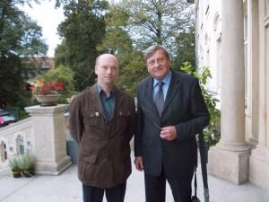 Piotr Szelągowski i Mirosław Hermaszewski